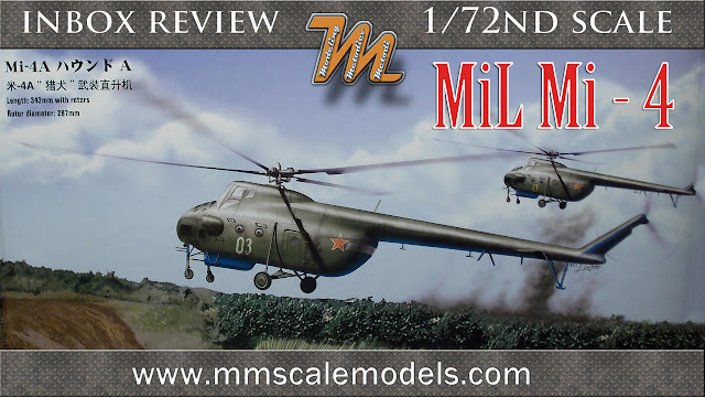Hobby Boss 87226 Mil Mi-4 1/72 scale model inbox review