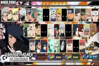 Naruto senki Apk Mod Gabungan v1.17 (Shinobi Senki) Full Version
