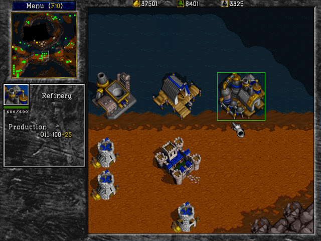 Warcraft 2 Refinery Screenshot
