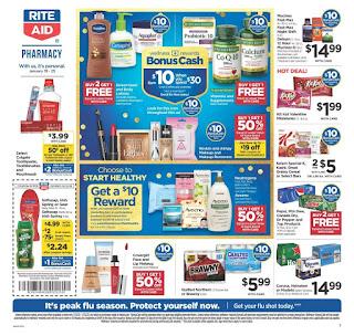 ⭐ Rite Aid Ad 1/26/20 ⭐ Rite Aid Weekly Ad January 26 2020