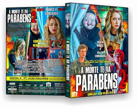 CAPA DVD – A Morte Te Da Parabens 2 2019 – ISO – CINEMA
