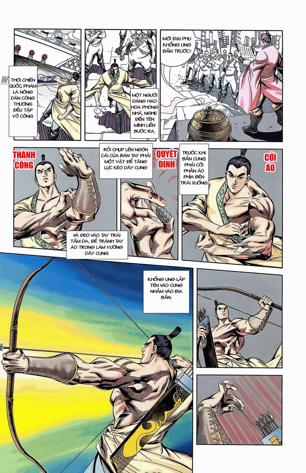 Tần Vương Doanh Chính chapter 6 trang 17