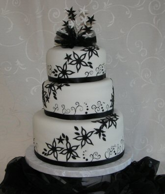 black and white wedding cake photos various kinds of wedding dresses with new models black 11845