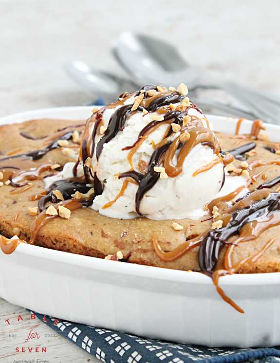 Chocolate Chip Paradise Pie