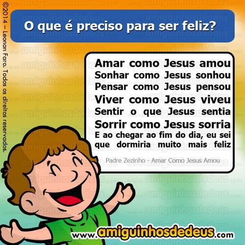 amar como jesus amou padre zezinho para