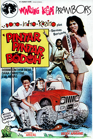 Warkop DKI Pintar – Pintar Bodoh (1980)