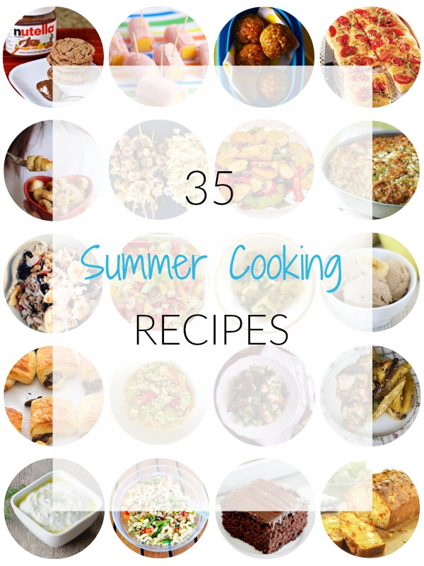Easy, summer recipes round up - Ioanna's Notebook