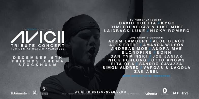 Revive en #vídeo el emotivo concierto tributo a #Avicii en #Estocolmo