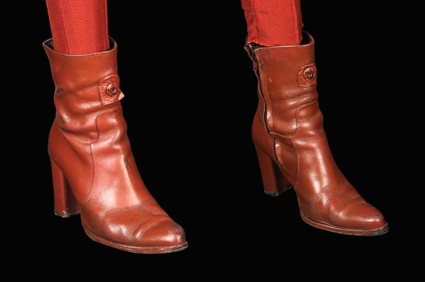 Deep Space Nine Major Kira costume boots