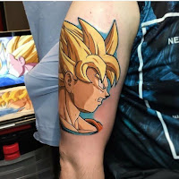 tatuaje dbz dragon ball z