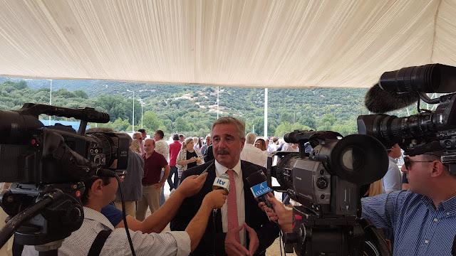 Γ. Μανιάτης: «Ακραίος προπαγανδιστής ο κ. Τσίπρας και στην Ιόνια Οδό»