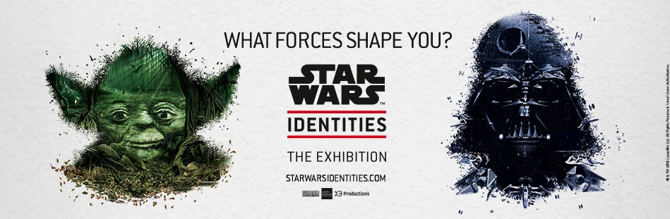 ARRIVING IN THE NETHERLANDS, FROM 30/9/17. BOOK NOW FOR THE ULTIMATE 'STAR WARS' EXHIBITION