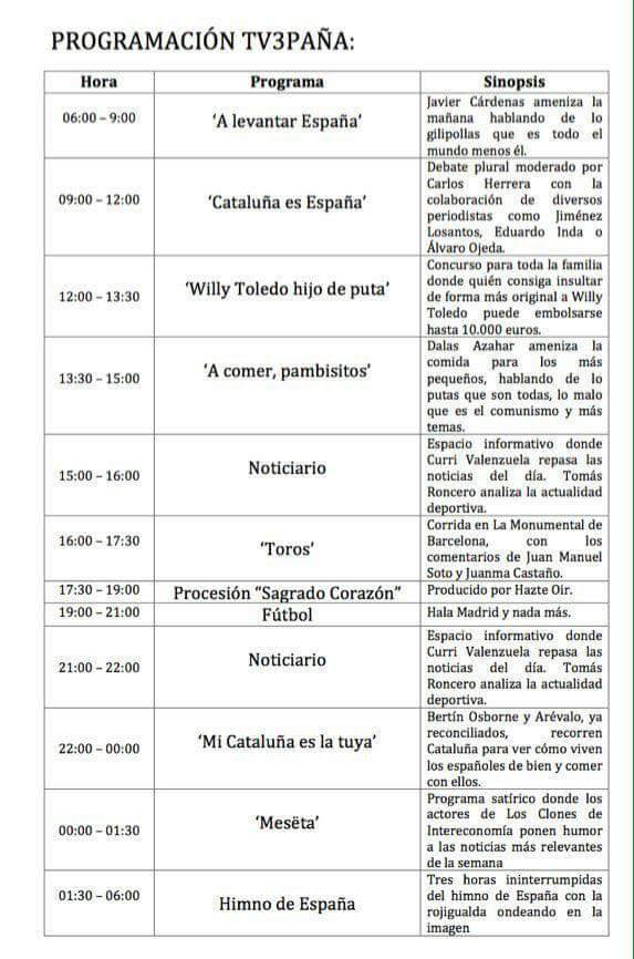 TV3,PP,intervenida,programacion,manipulacion,cataluña,medios