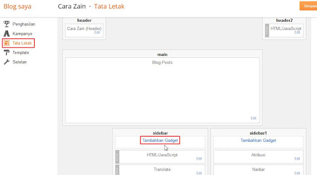 Cara Memasang Widget Jam Dan Kalender Di Blog Terbaru