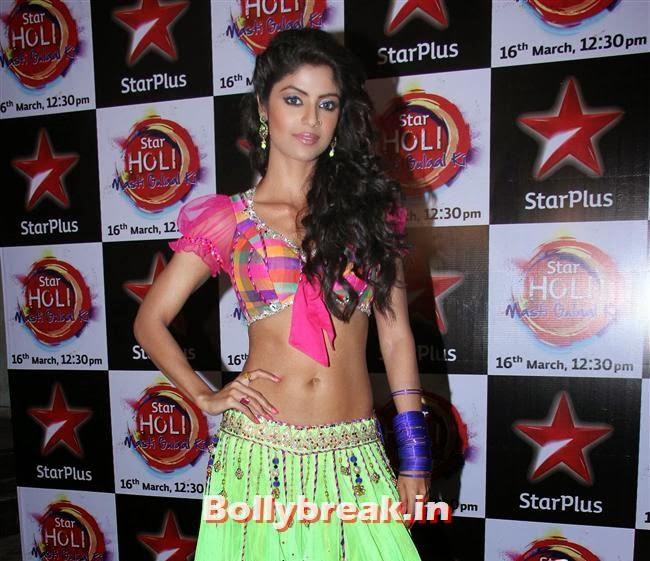 Shayantani Ghosh,  Jennifer winget, Shayantani , Others at Star Plus Holi Masti Gulal Ki