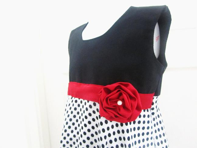 Sewing Patterns For Girls Dresses And Skirts Rosette Dress Sewing