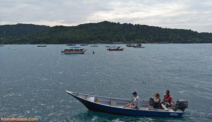 Teksi bot Pulau Perhentian