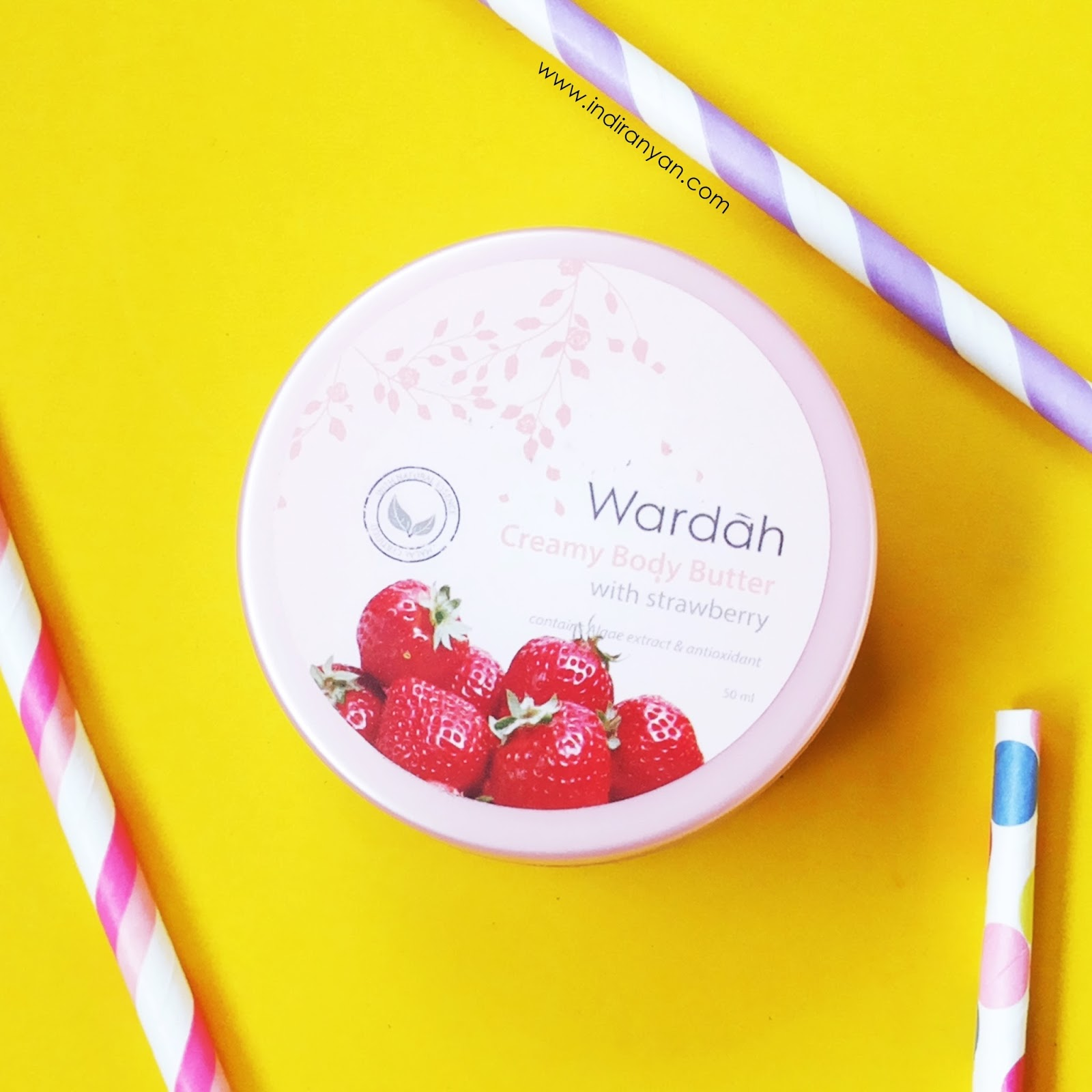 wardah-body-butter-strawberry