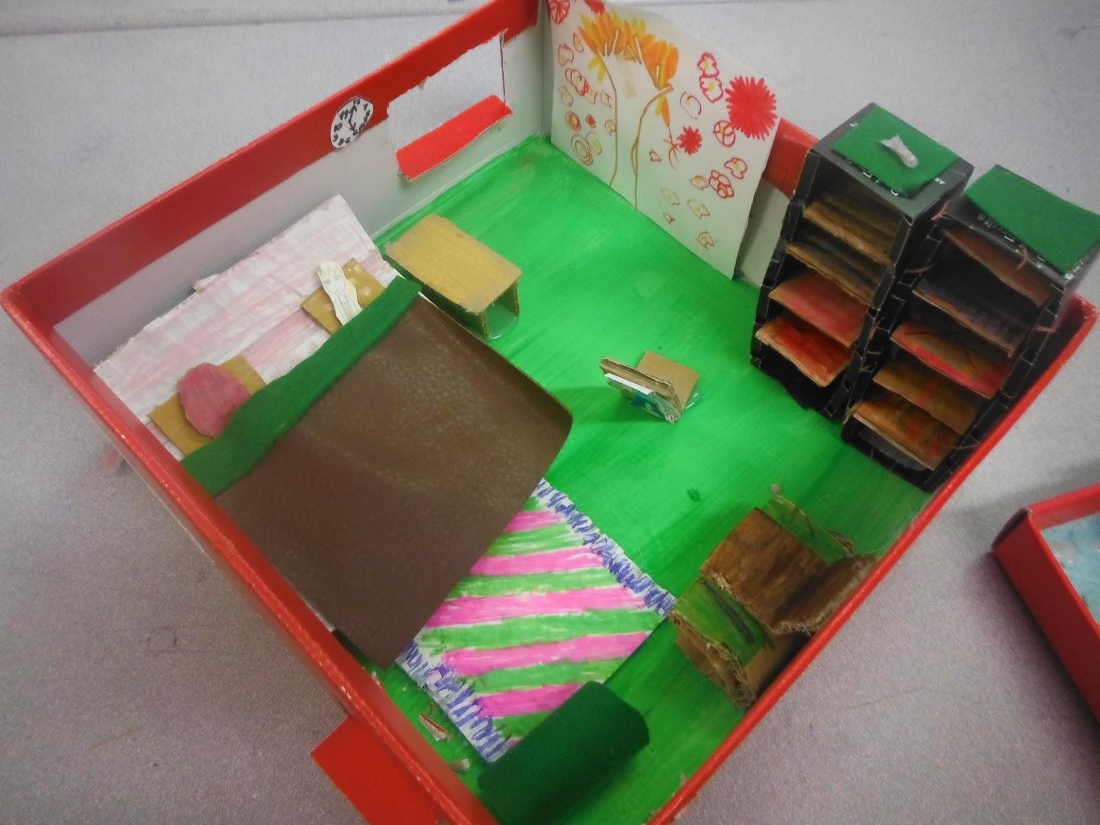 s verine peugniez ateliers d 39 arts plastiques les enfants cr ent et fabriquent une maison de. Black Bedroom Furniture Sets. Home Design Ideas