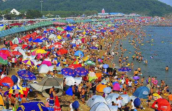 Fujiazhuang Beach - Dalian, China