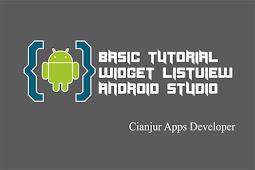 Cara Berpindah Activity menggunakan ListView Android Studio