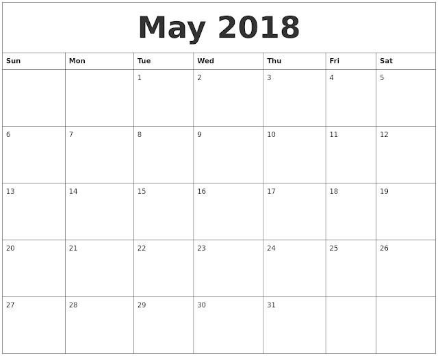 May 2018 Calendar, May 2018 Calendar Printable, May 2018 Calendar Template, May 2018 Blank Calendar, May 2018 Printable Calendar, May Calendar 2018, Calendar May 2018, May 2018 Calendar Holidays, May 2018 Calendar Portrait, May 2018 Calendar PDF, May 2018 Calendar Excel, May 2018 Calendar PDF
