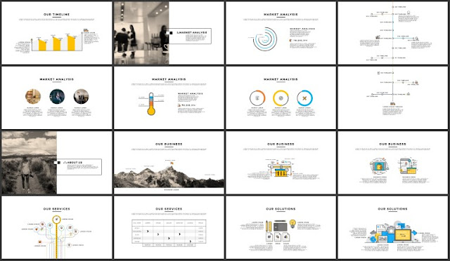 FREE 100+ Unique Slides Multi Purpose Premium Powerpoint Template 17-32