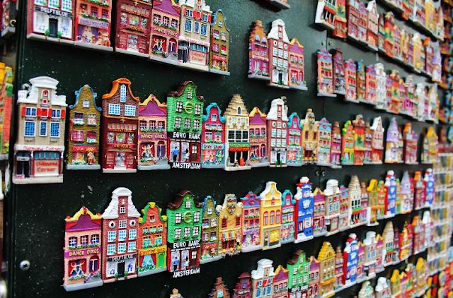 Gastos com lembrancinhas e souvenirs em Amsterdã