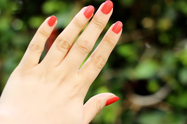 Barry M Gelly Hi Shine Nail Paint in Satsuma