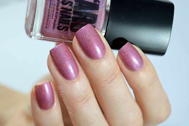 ard as nails by the letter swatch holographic