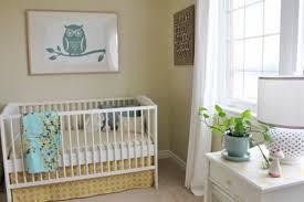 Dormitorio beige para bebé