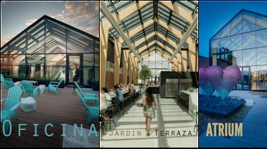 Oficina, bar, jardín, terraza... Atrium