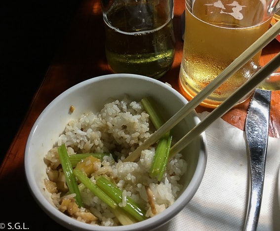 Comida china en Guilin. De paseo por el lago Shan Hu