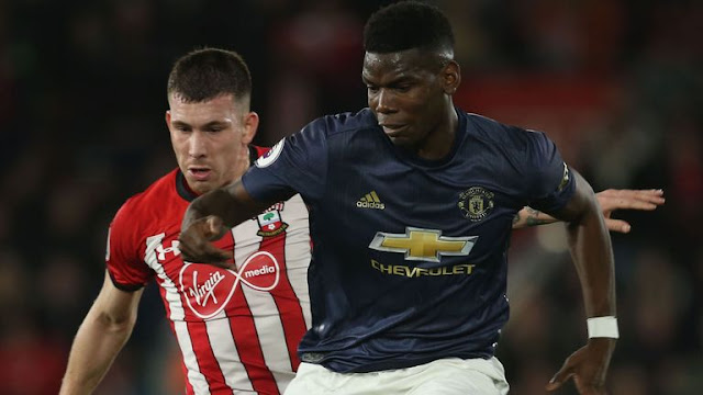 Paul Pogba Manchester United Vs Southampton