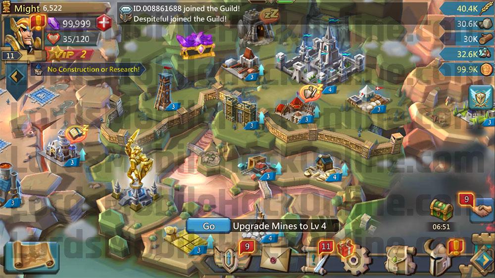 lords mobile gems hack download