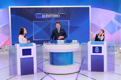 Larissa, Silvio e Sophia (Crédito: Lourival Ribeiro/SBT)