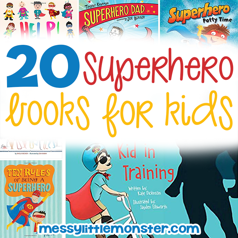 superhero books for kids