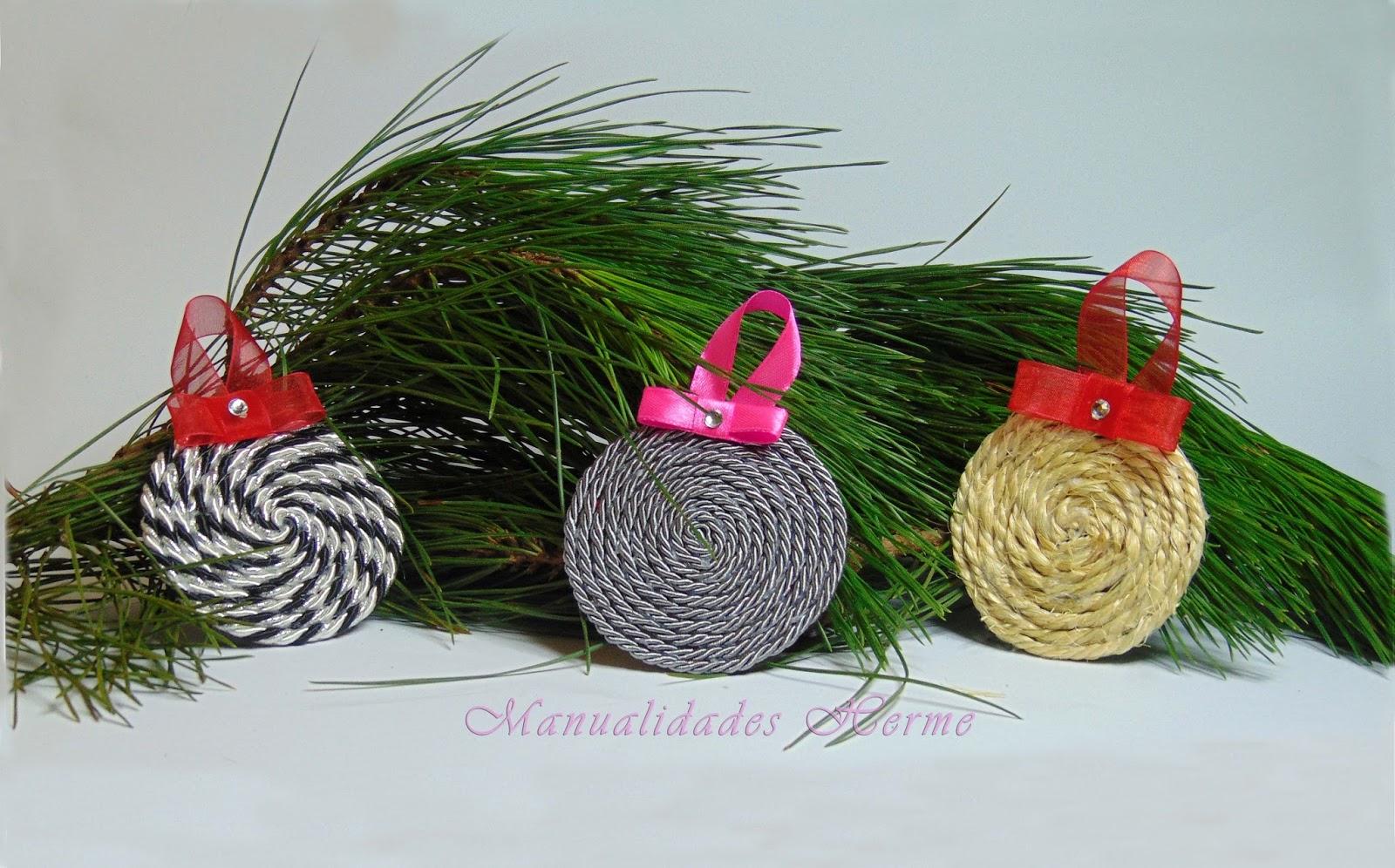 Manualidades herme diy adorno de navidad para el rbol for Adornos navidenos para el arbol