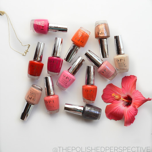 OPI California Dreaming Collection Swatch and Review