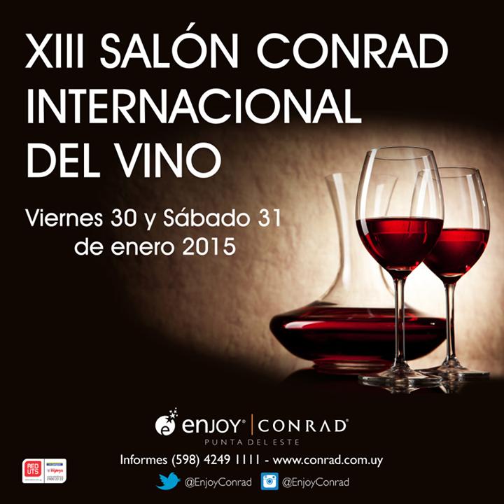 13° edición del Salón Conrad Internacional del Vino 2015