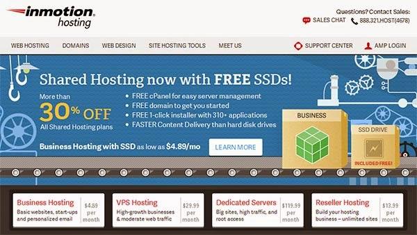 inmotion hosting terbaik