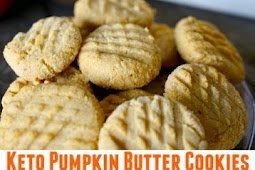 Keto Pumpkin Butter Cookies Recipe