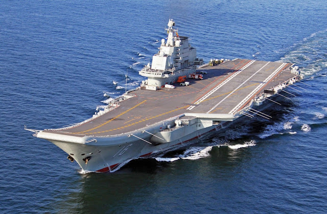 CHINA'S FIRST AIRCRAFT CARRIER IS COMBAT READY