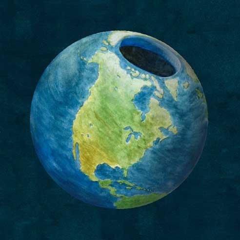 Terre creuse : légende ou réalité ?