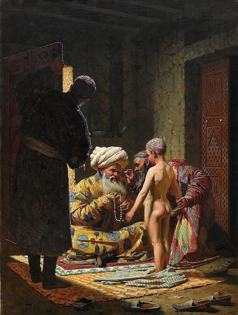 Vasily Vereshchagin: La vendita di uno schiavo bambino