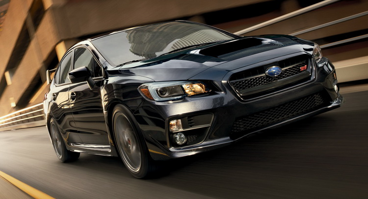 2017 Subaru WRX STI Updated With New Safety Features, Priced From $ ...