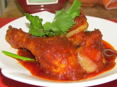 Ayam masak Tomato