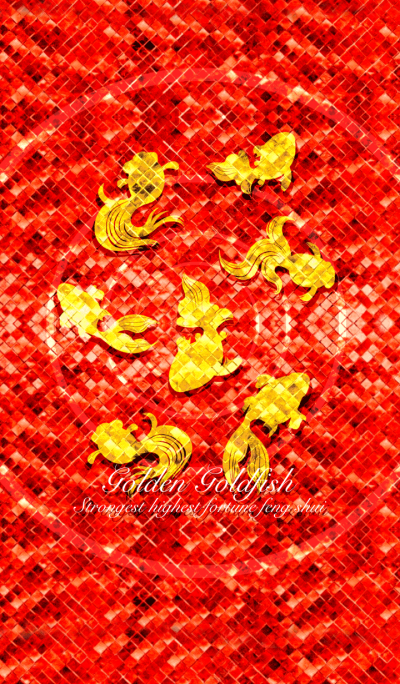 Golden goldfish 2