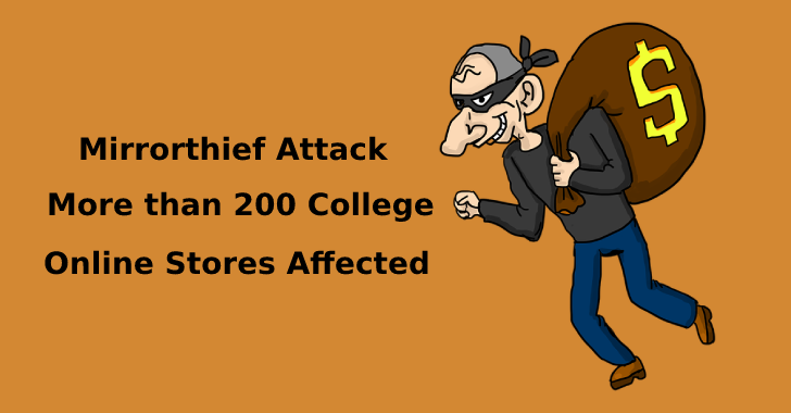Mirrorthief Attack – Hackers Stolen Payment Information from More than 200 College Online Stores Affected