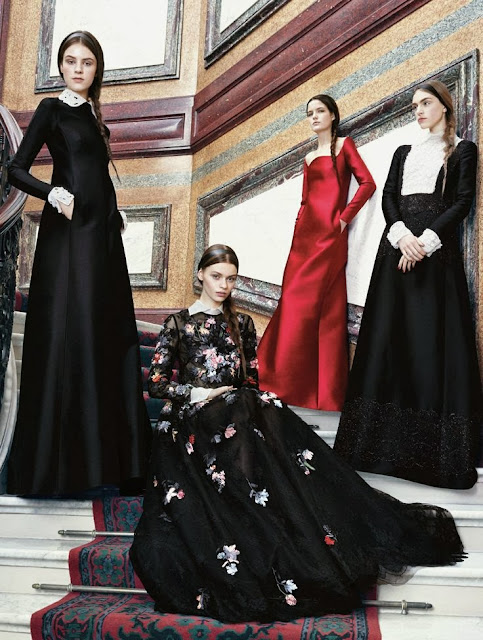 Editorial Fashion | Valentino's New Reign: by Ben Weller For Us Harper's Bazaar May 2013